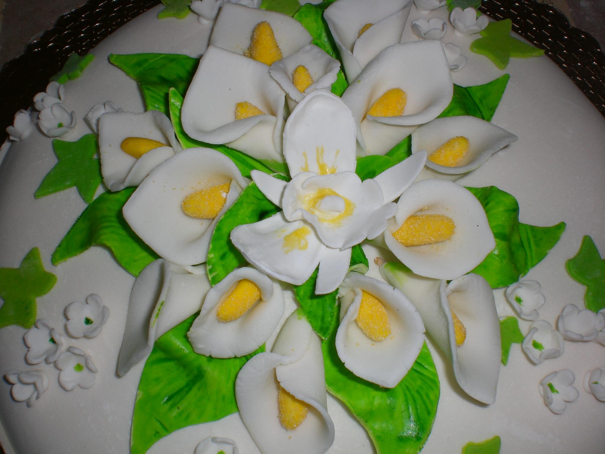 torta kinder con calle e orchidea in pdz- apemaia31- è un ...