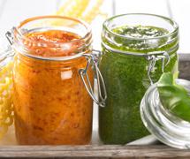 Salse, sughi, condimenti, creme spalmabili e confetture