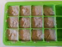 Cubetti carne omogenizzata