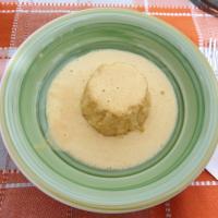 tortino di riso con crema di taleggio e zucca