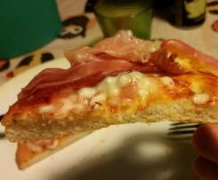 Pizza soffice con lievito di birra
