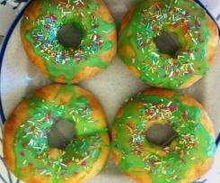 Doughnut al forno (donuts al forno)
