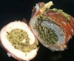 Rotolini di pollo e speck - light
