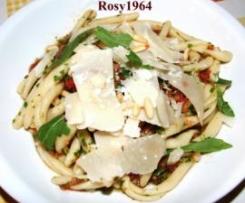 "Pasta ""Sprint"" con Pomodoro e Rucola"