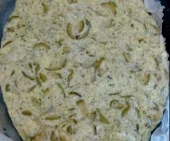 Frittata di zucchine e cipolle in odore di menta al varoma