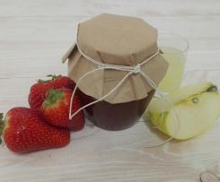 Confettura di fragola, mela e limoncello