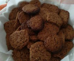Variante di Cookies al cioccolato senza uova