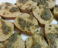 Salame di tonno con salsa ai capperi