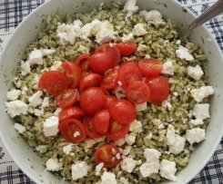 insalata fredda con rucola