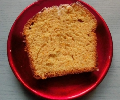 Plumcake Semi-Integrale all'Arancia
