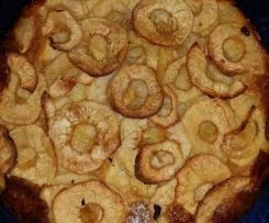 Torta di mele di mamma ( poca torta tante mele)