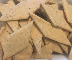 Frollini salati con farine di mandorle e fave