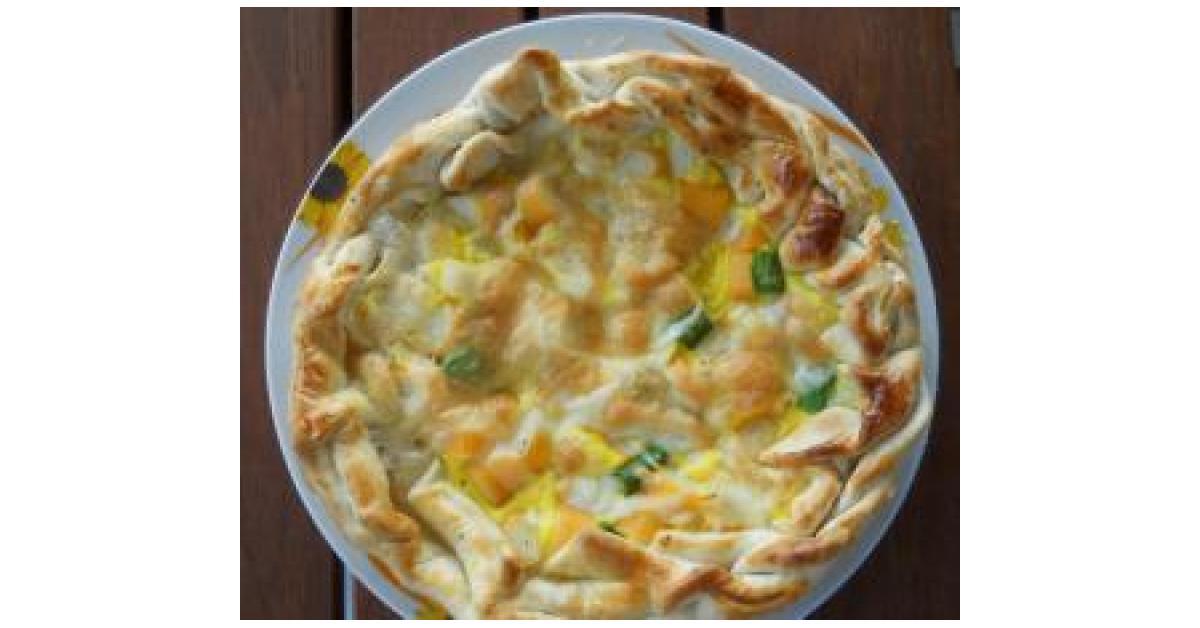 Torta Salata Con Pasta Brise è Un Ricetta Creata Dallutente