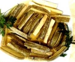 zucchine marinate alle erbe di Provenza