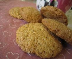 biscotti al grano saraceno e zucchero di canna - stile molinetti