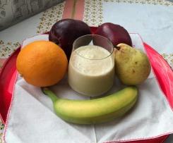 Frullato di frutta mista e mandorle light