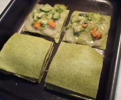 Lasagne alle verdure con besciamella all'acqua