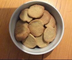 Biscotti d'orzo con sale rosa