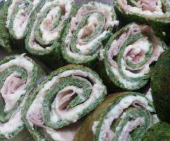 Frittatine agli spinaci ripiene