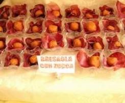 saltimbocca di zucca con bresaola Finger food