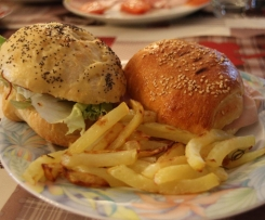 American Hot Dog e Hamburger