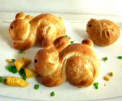 Coniglietti (briosche senza lattosio)