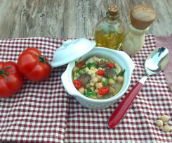 Zuppa di Ceci e Funghi Porcini (a modo mio)