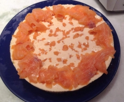 cheesecake al salmone