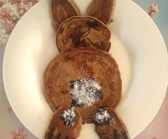 Pancake Coniglio dietetici con farina integrale e senza burro