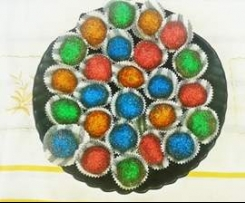 baci ubriachi multicolor  finger food