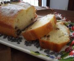 plum cake con yogurt (senza burro)
