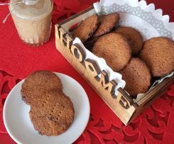 Biscotti digestive con cioccolato