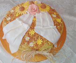 Torta ananas, limoncello e amaretti -Contest Festa della Mamma