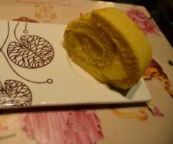 Rotolo al limone senza grassi e senza latte
