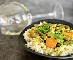 Curry di verdure primaverili - contest primavera