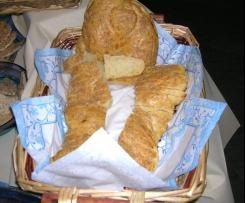 pane al sesamo bianco e noci