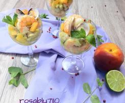 Antipasto con Pesche e Mazzancolle (contest pesche )