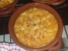 Pasta e patate con provola napoletana