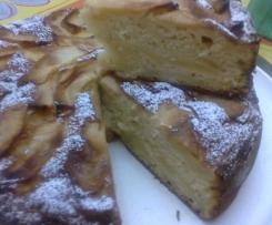 la mia torta di mele(senza burro)