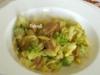 Pasta con broccolo romanesco e tonno