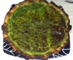 Quiche spinaci e wustel