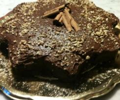 Torta morbida al cioccolato e cannella
