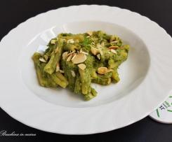 Pasta con porri verdi e ricotta