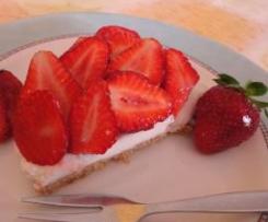 Torta di fragole allo yogurt (estiva)