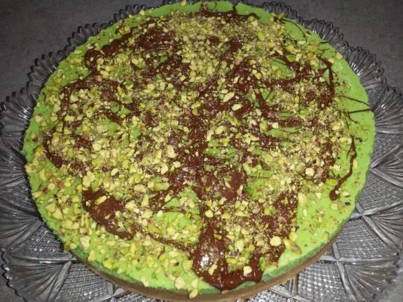 Cheesecake Al Pistacchio è Un Ricetta Creata Dallutente Menten