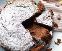 Torta con Frutta secca e Cioccolato (Senza Uova e Senza Lattosio)