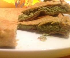 Torta salata al Pesto di Basilico