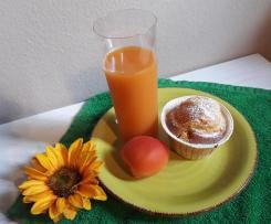 Muffin con Philadelphia e Albicocche fresche a modo mio svuota frigorifero