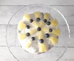Torta di crepes al cocco e frutta fresca - contest torte senza cottura