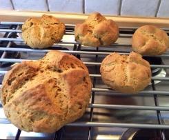 Panini con farina di soia a lievitazione naturale